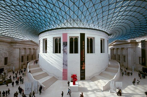 British Museum Great Court Lluis Ribes i Portillo